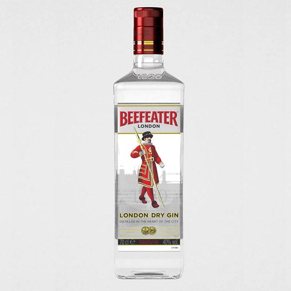 3d gin bottle