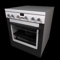 c4d kitchen oven