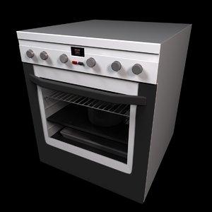 c4d kitchen oven