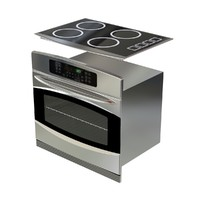 Oven and Electric Stovetop; GE Profile