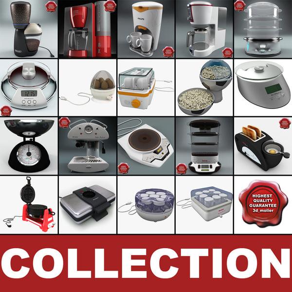 kitchen appliances v6 3ds