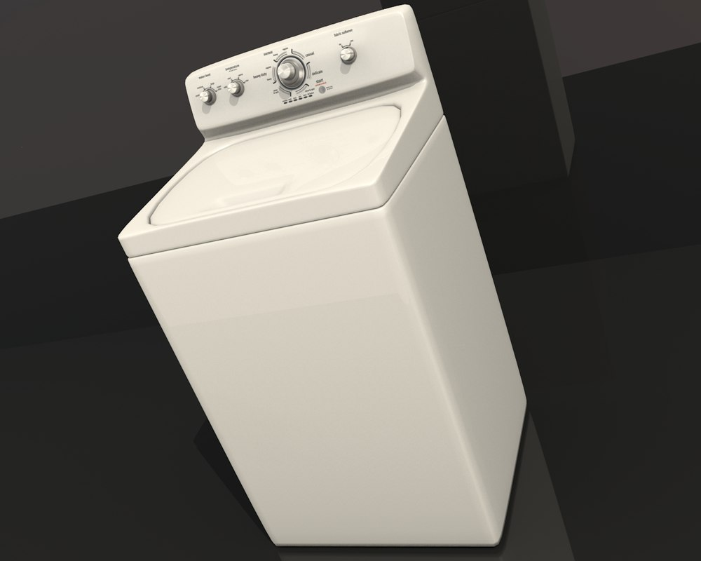 3ds max washer interior design