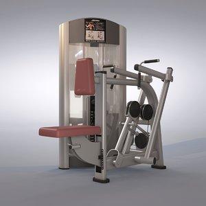 rear deltoid row machine max