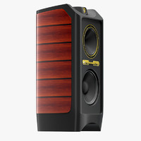 3d model tannoy kingdom royal