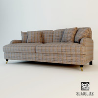 3d meridiani harrison sofa model