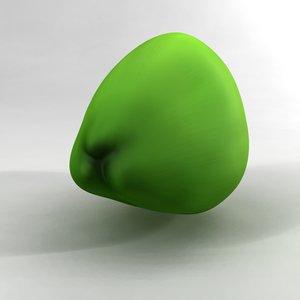 nut green obj