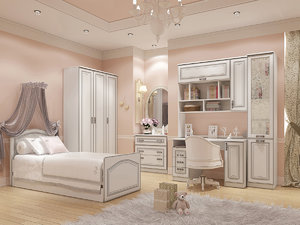 nursery furniture 3ds