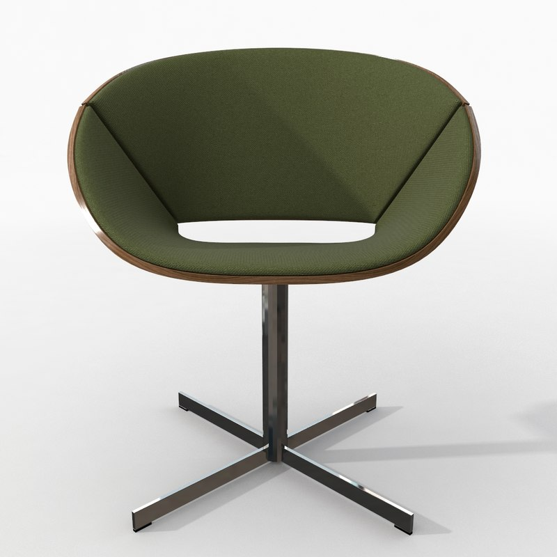 3d lipse chair