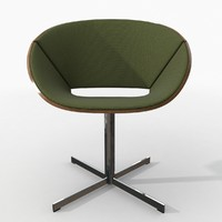 Lipse cross base chair