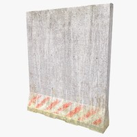 3d model of concrete block