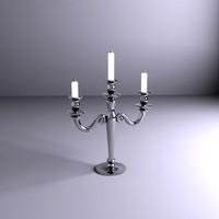 chandelier lamp light 3d model