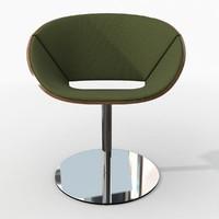 Davis Lipse Pedestal Chair
