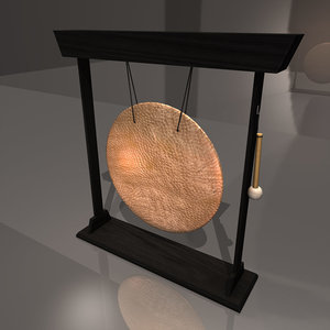gong mallet obj
