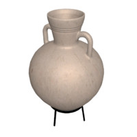 3d model greek amphora