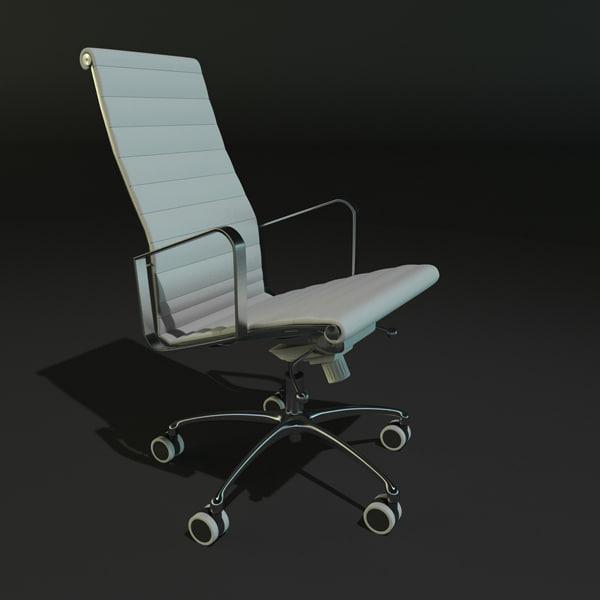 3d model of chair tcc