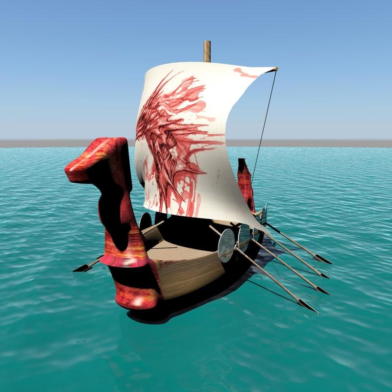 viking ship ma