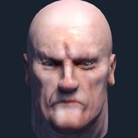 3d model quad head