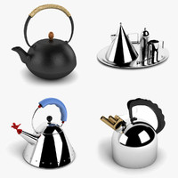tea kettle 3d 3ds