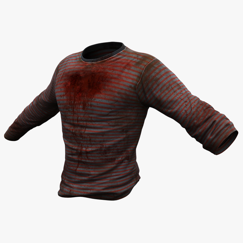 3ds max blood sweater
