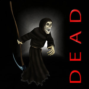 3d model stand-alone dead