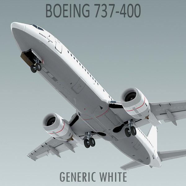 boeing 737-400 3d max