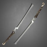 sword bone 3d model