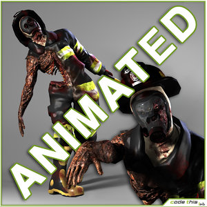 zombie 3d x