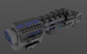 blue ship 3ds