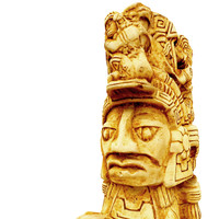 Aztec figure replica