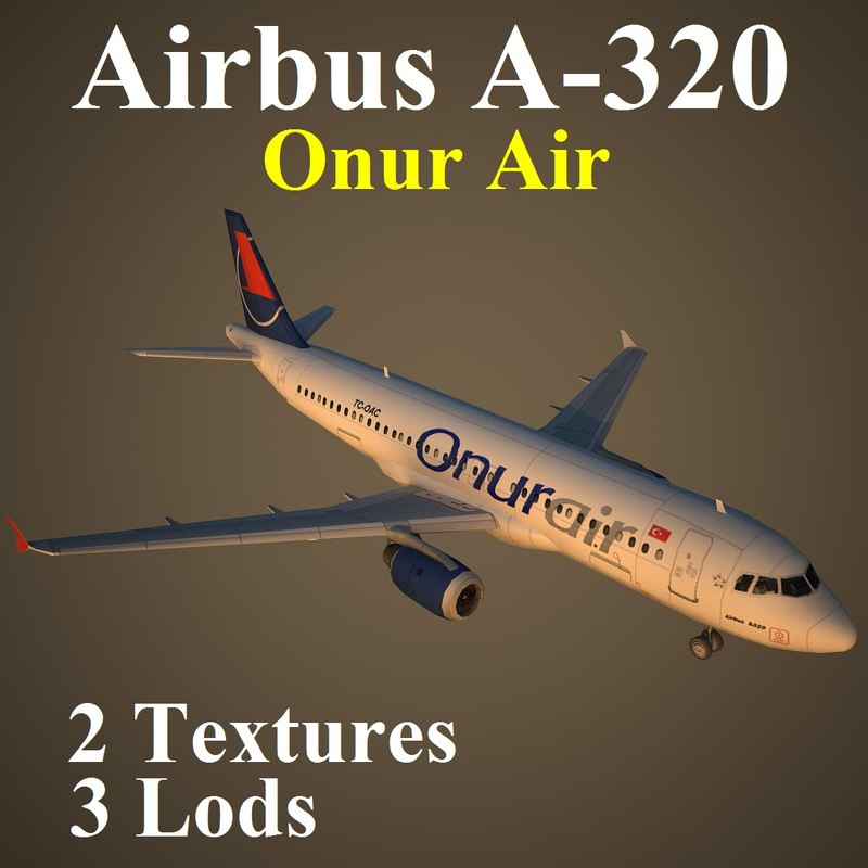 3d max airbus ohy