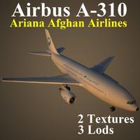 3ds max airbus airlines afg
