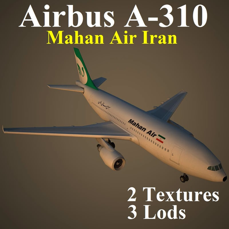 3d airbus irm airliner model