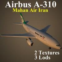 3d airbus irm airliner model