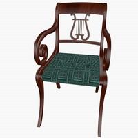 Lyre Chair