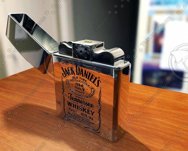 3d jack daniel s zippo lighter