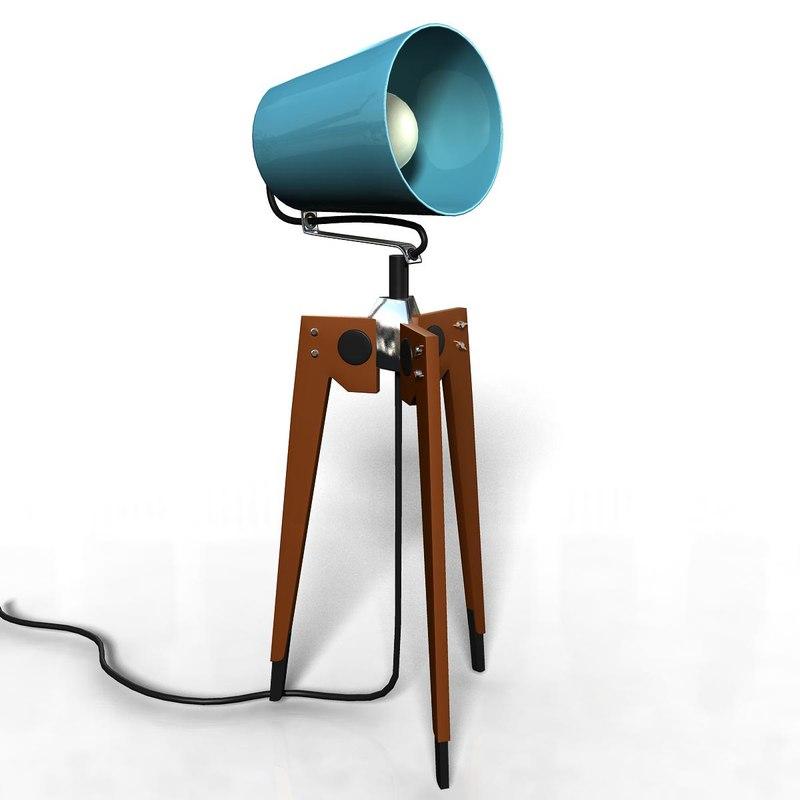 lamp studiolamp studiolight 3d model