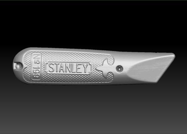 obj scan stanley knife handle