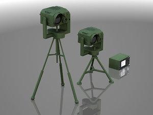 3ds max thermal camera