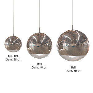 3d model tom dixon mirror ball