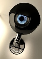 eye web cam 3d model