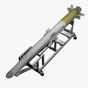 x-51a waverider 3d model