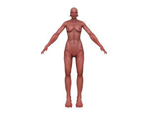 female figure obj