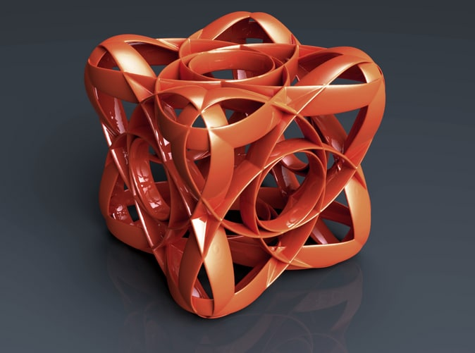 abstract geometrical obj free