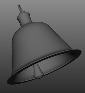 free church cycle bell 3d model