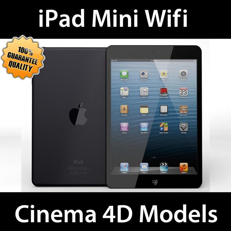 3d c4d apple ipad mini wifi