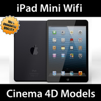3d c4d apple ipad mini wifi