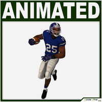 team player american football obj