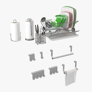 3d kitchen accessories