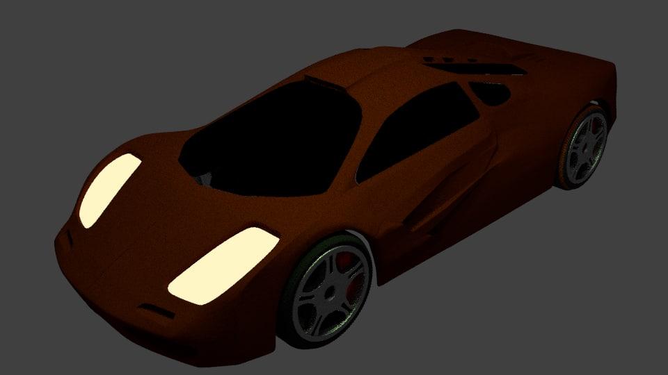 3d f1 model