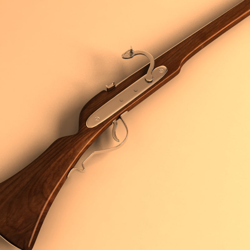 3ds max musket gun